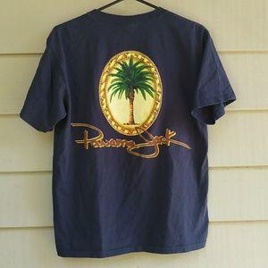 Panama Jack Navy Palm Tree T Shirt